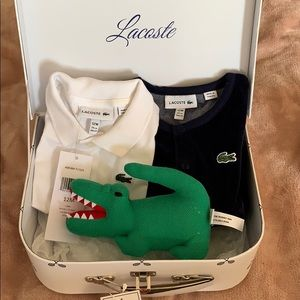 Lacoste 12 month 3 piece gift set